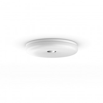 PHILIPS 34189/31/P6 | PHILIPS-hue-Struana Philips stropne svjetiljke hue DIM portable prekidač + hue smart rasvjeta okrugli daljinski upravljač jačina svjetlosti se može podešavati, sa podešavanjem temperature boje, Bluetooth 1x LED 2400lm 2200 <->