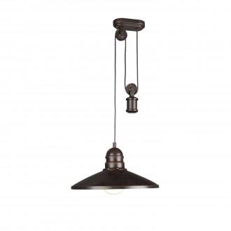 PHILIPS 37665/86/10 | Aki Philips visilice svjetiljka balansna - ravnotežna, sa visinskim podešavanjem, za štednu žarulju 1x E27 tamno smeđe