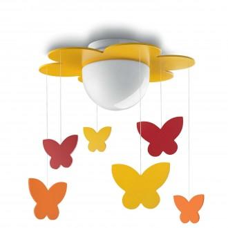 PHILIPS 40096/34/P0 | Meria Philips stropne svjetiljke svjetiljka 1x LED 1055lm 2700K žuto, višebojno
