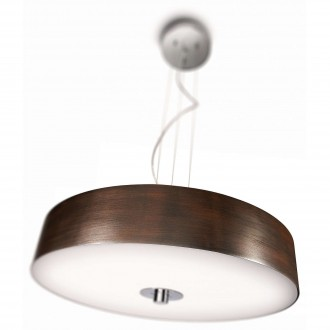 PHILIPS 40339/11/16 | Fair Philips visilice svjetiljka s podešavanjem visine, jačina svjetlosti se može podešavati 1x 2GX13 / T5 4200lm 2700K krom
