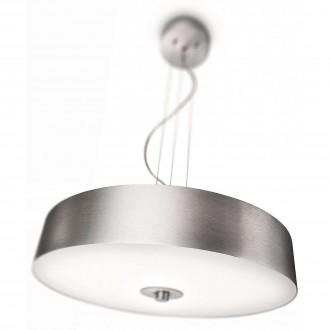 PHILIPS 40339/48/16 | Fair Philips visilice svjetiljka s podešavanjem visine, jačina svjetlosti se može podešavati 1x 2GX13 / T5 4200lm 2700K aluminij