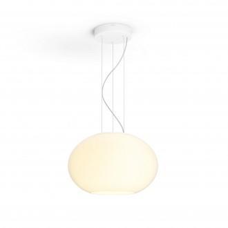 PHILIPS 40906/31/P7 | PHILIPS-hue-Flourish Philips visilice hue smart rasvjeta jačina svjetlosti se može podešavati, sa podešavanjem temperature boje, promjenjive boje 1x LED 3000lm 2200 <-> 6500K bijelo