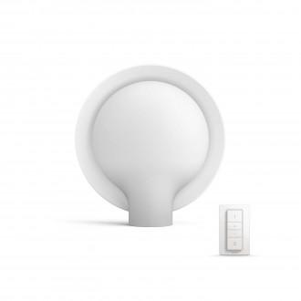 PHILIPS 40975/31/P7 | PHILIPS-hue_Felicity Philips stolna hue smart rasvjeta okrugli 8,7cm daljinski upravljač jačina svjetlosti se može podešavati, sa podešavanjem temperature boje 1x E27 806lm 2200 <-> 6500K bijelo