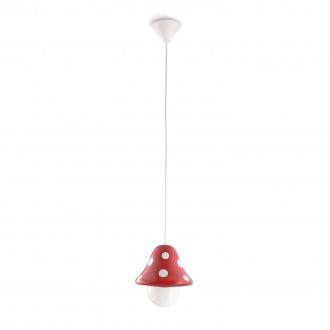 PHILIPS 41017/32/16 | Boletu Philips visilice svjetiljka s podešavanjem visine 1x E27 1140lm 2700K crveno, bijelo