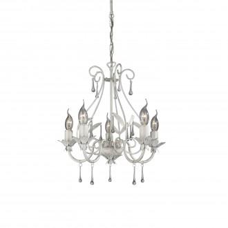 PHILIPS 41814/31/10 | Madison2 Philips luster svjetiljka 5x E14 bijelo