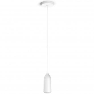 PHILIPS 43006/31/P7 | PHILIPS-hue-Devote Philips visilice hue smart rasvjeta okrugli jačina svjetlosti se može podešavati, sa podešavanjem temperature boje 1x E27 806lm 2200 <-> 6500K bijelo
