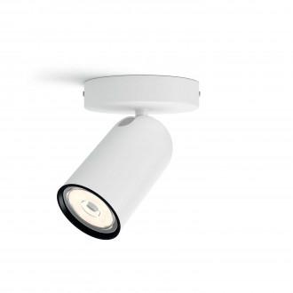 PHILIPS 50581/31/PN | Pongee Philips zidna, stropne svjetiljke svjetiljka okrugli elementi koji se mogu okretati 1x GU10 bijelo, crno
