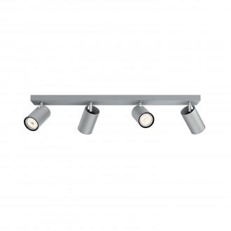 PHILIPS 50594/48/PN | Kosipo Philips zidna, stropne svjetiljke svjetiljka okrugli elementi koji se mogu okretati 4x GU10 aluminij