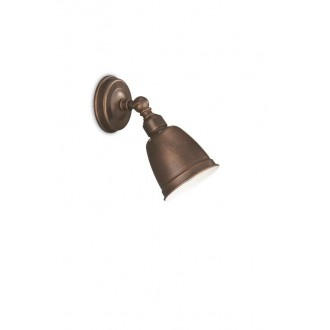 PHILIPS 52130/43/PN | PetrolP Philips zidna svjetiljka elementi koji se mogu okretati 1x E14 braon antik