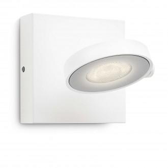 PHILIPS 53170/31/16 | Clockwork Philips zidna, stropne svjetiljke svjetiljka jačina svjetlosti se može podešavati, izvori svjetlosti koji se mogu okretati 1x LED 500lm 2700K bijelo