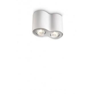 PHILIPS 56332/31/PN   Pillar Philips stropne svjetiljke svjetiljka izvori svjetlosti koji se mogu okretati 2x GU10 bijelo