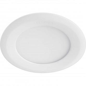 PHILIPS 59521/31/P1 | Marcasite Philips ugradbene svjetiljke LED panel okrugli Ø110mm 1x LED 860lm 3000K bijelo