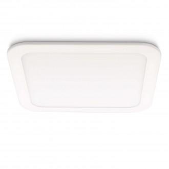 PHILIPS 59714/31/16 | Hydra Philips ugradbena svjetiljka jačina svjetlosti se može podešavati 221x221mm 1x LED 1280lm 2700K bijelo