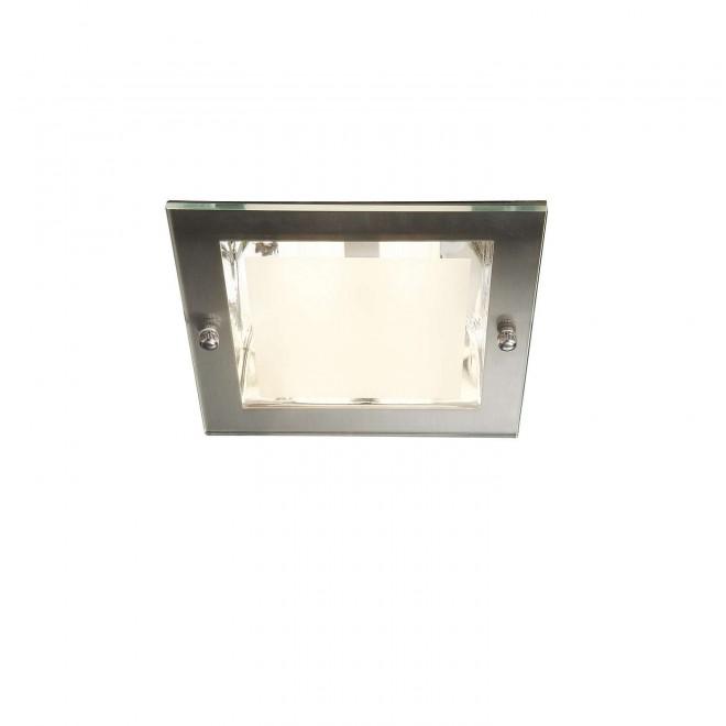 PHILIPS 59791/17/10 | Lava2 Philips ugradbena svjetiljka za štednu žarulju 163x163mm 2x E27 kromni mat
