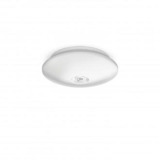PHILIPS 62233/31/P0 | Mauve Philips zidna, stropne svjetiljke svjetiljka sa senzorom 4x LED 600lm 2700K bijelo