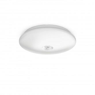 PHILIPS 62234/31/P0 | Mauve Philips zidna, stropne svjetiljke svjetiljka sa senzorom 4x LED 1300lm 2700K bijelo