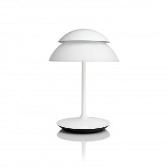 PHILIPS 71202/31/PH | PHILIPS-hue-Beyond Philips stolna hue smart rasvjeta okrugli 40,4cm s prekidačem jačina svjetlosti se može podešavati, promjenjive boje 2x LED 600lm 2200 <-> 6500K bijelo
