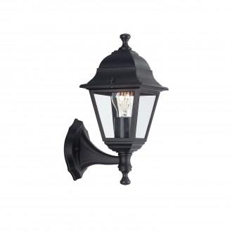 PHILIPS 71425/01/30 | Lima Philips zidna svjetiljka 1x E27 IP44 crno