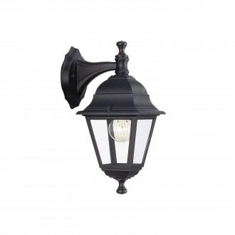 PHILIPS 71426/01/30 | Lima Philips zidna svjetiljka 1x E27 IP44 crno