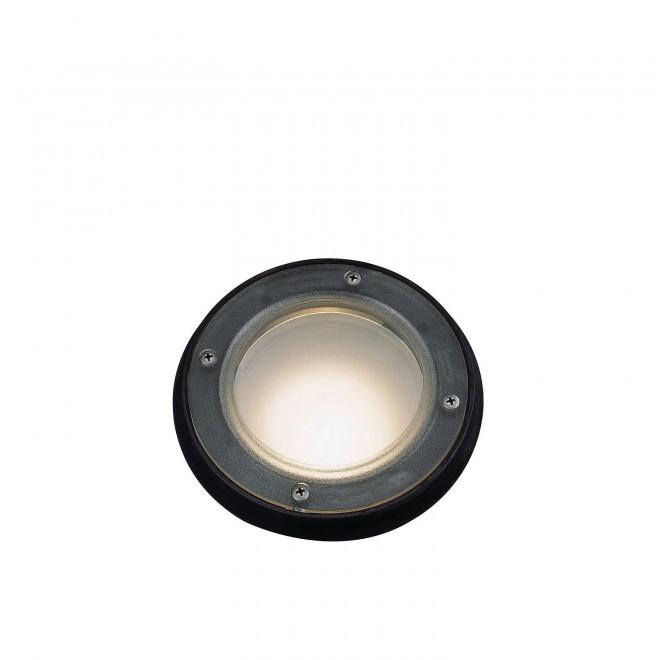 PHILIPS 71428/01/30 | Acapulco Philips ugradbena svjetiljka Ø175mm 1x E27 IP67 crno