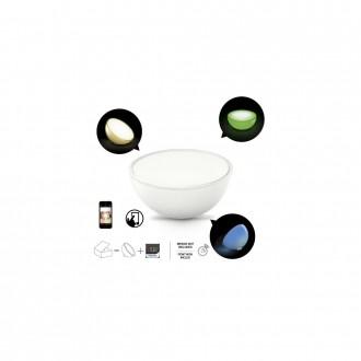 PHILIPS 71460/60/PH | PHILIPS-hue_Ambient Philips nosiva hue Go smart rasvjeta okrugli s prekidačem jačina svjetlosti se može podešavati, promjenjive boje 1x LED 210lm 2000 <-> 6500K bijelo