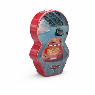 PHILIPS 71767/32/P0 | Cars Philips nosiva džepna lampa s prekidačem 1x LED 5lm 2700K višebojno, crveno