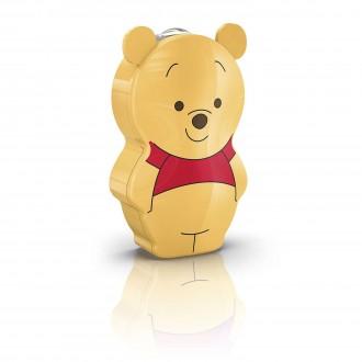 PHILIPS 71767/34/16 | Winnie_the_Pooh Philips nosiva džepna lampa s prekidačem 1x LED 5lm 2700K višebojno