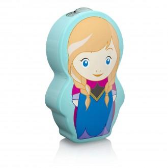 PHILIPS 71767/36/16 | Frozen Philips nosiva džepna lampa s prekidačem 1x LED 5lm 2700K plavo, višebojno