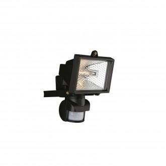 PHILIPS 74946/21/30 | Faro Philips reflektor svjetiljka sa senzorom 1x R7s IP44 crno