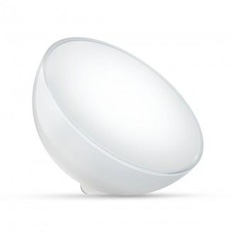 PHILIPS 76020/31/P7 | PHILIPS-hue-Ambient Philips nosiva hue Go smart rasvjeta okrugli s prekidačem jačina svjetlosti se može podešavati, promjenjive boje, sa podešavanjem temperature boje, Bluetooth 1x LED 520lm 2000 <-> 6500K bijelo