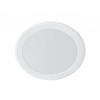 PHILIPS 8718696173589 | Meson Philips ugradbene svjetiljke LED panel okrugli Ø95mm 1x LED 550lm 6500K bijelo
