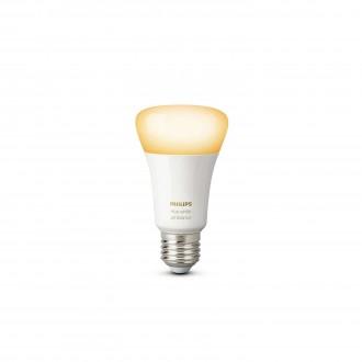 PHILIPS 8718696548738 | E27 9,5W Philips obični A19 LED izvori svjetlosti hue smart rasvjeta 806lm 2200 <-> 6500K jačina svjetlosti se može podešavati, sa podešavanjem temperature boje 160° CRI>80