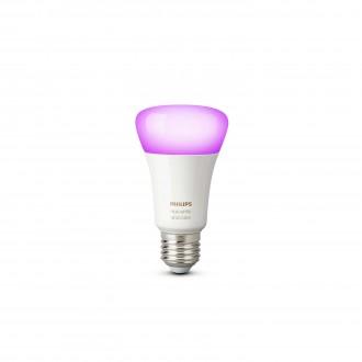 PHILIPS 8718696592984 | E27 10W Philips obični A19 LED izvori svjetlosti hue smart rasvjeta 806lm 2200 <-> 6500K jačina svjetlosti se može podešavati, promjenjive boje 160° CRI>80