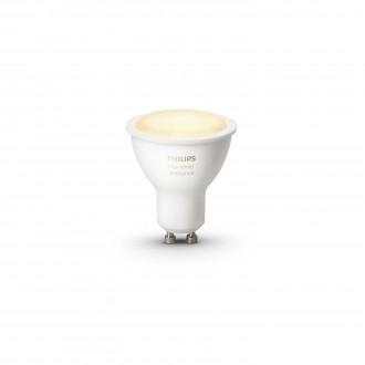 PHILIPS 8718696598283 | GU10 5,5W Philips spot LED izvori svjetlosti hue smart rasvjeta 250lm 2200 <-> 6500K jačina svjetlosti se može podešavati, sa podešavanjem temperature boje 45° CRI>80