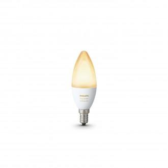 PHILIPS 8718696695203 | E14 6W Philips oblik svijeće B39 LED izvori svjetlosti hue smart rasvjeta 470lm 2200 <-> 6500K jačina svjetlosti se može podešavati, sa podešavanjem temperature boje