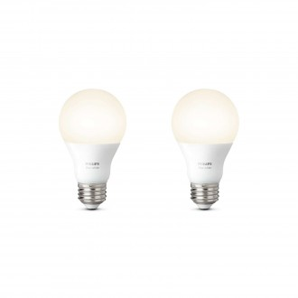 PHILIPS 8718696729113 | E27 9,5W Philips obični A60 LED izvori svjetlosti hue smart rasvjeta 806lm 2700K jačina svjetlosti se može podešavati, dvodijelni set 180° CRI>80