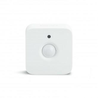 PHILIPS 8718696743171 | Philips sa senzorom hue smart rasvjeta četvrtast svjetlosni senzor - sumračni prekidač bežični IP42 bijelo