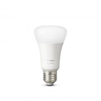 PHILIPS 8718696785270 | E27 9W -> 60W Philips obični A60 LED izvori svjetlosti hue smart rasvjeta 806lm 2700K jačina svjetlosti se može podešavati, Bluetooth, dvodijelni set CRI>80