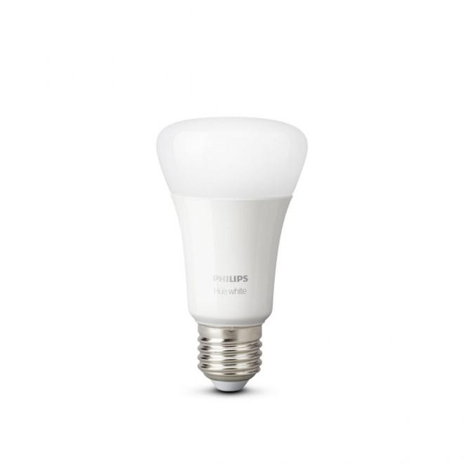 PHILIPS 8718696785317 | E27 9W -> 60W Philips obični A60 LED izvori svjetlosti hue smart rasvjeta 806lm 2700K jačina svjetlosti se može podešavati, Bluetooth CRI>80