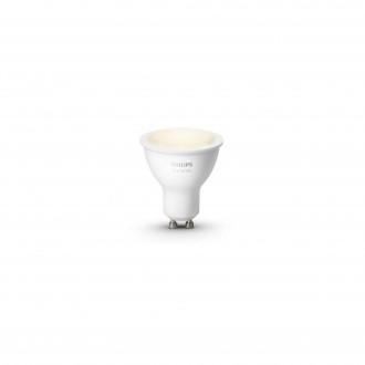 PHILIPS 8718699605513 | GU10 5,5W Philips spot LED izvori svjetlosti hue smart rasvjeta 300lm 2700K jačina svjetlosti se može podešavati 46° CRI>80