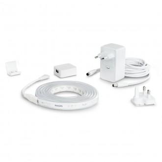 PHILIPS 8718699703424 | PHILIPS-hue-LightStrip Philips LED traka hue smart rasvjeta jačina svjetlosti se može podešavati, promjenjive boje, sa podešavanjem temperature boje, Bluetooth 1x LED 1600lm 2000 <-> 6500K bijelo