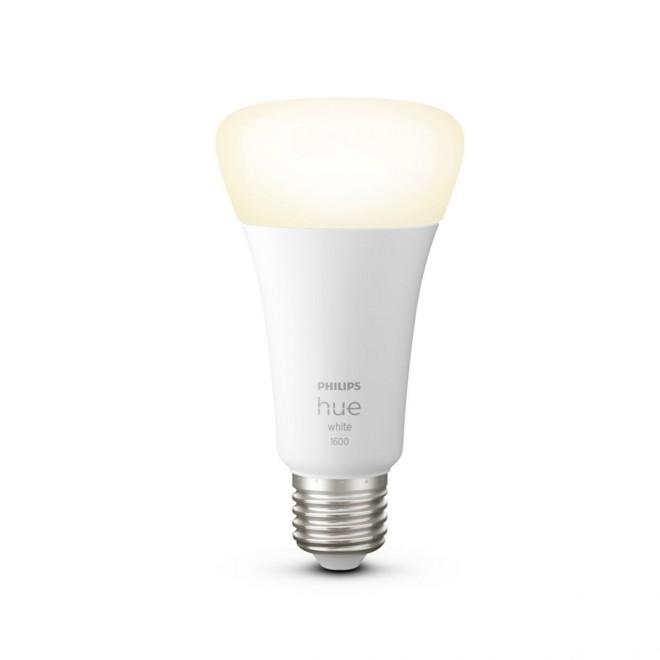 PHILIPS 8718699747992   E27 15,5W -> 100W Philips obični A67 LED izvori svjetlosti hue smart rasvjeta 1600lm 2700K jačina svjetlosti se može podešavati, Bluetooth CRI>80