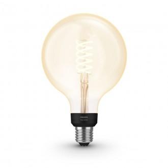 PHILIPS 8719514279131 | E27 7W -> 40W Philips velika kugla G125 LED izvori svjetlosti hue smart rasvjeta 550lm 2100K jačina svjetlosti se može podešavati, Bluetooth CRI>80