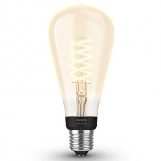 PHILIPS 8719514279179 | E27 7W -> 40W Philips Edison ST72 LED izvori svjetlosti hue smart rasvjeta 550lm 2100K jačina svjetlosti se može podešavati, Bluetooth CRI>80