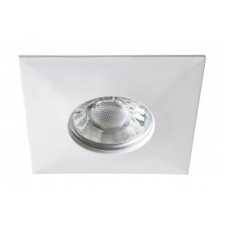 RABALUX 1080 | Randy Rabalux ugradbena svjetiljka četvrtast trodijelni set 78x78mm 3x LED 1050lm 3000K IP44/20 bijelo