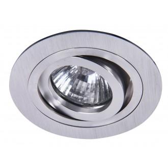 RABALUX 1116   SpoFashion7 Rabalux ugradbena svjetiljka pomjerljivo Ø92mm 92x92mm 1x MR16 / GU5.3 brušeni aluminij