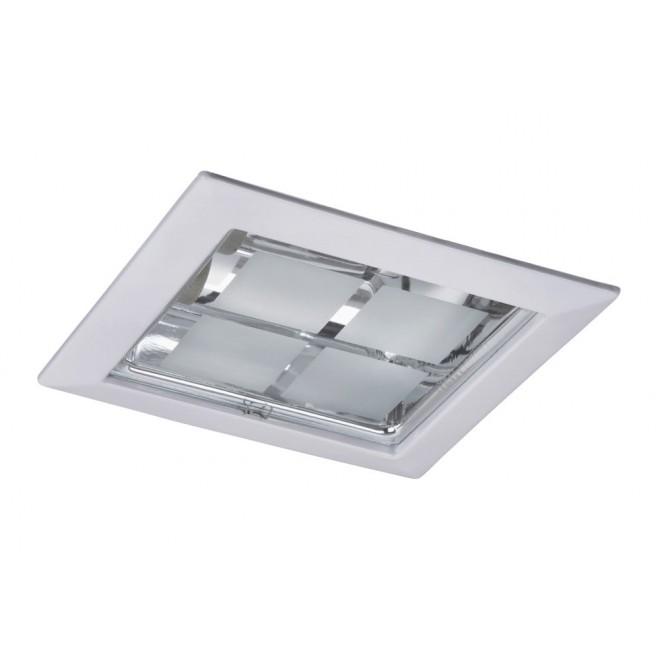 RABALUX 1131 | SpoOffice Rabalux ugradbena svjetiljka 230x230mm 2x E27 bijelo