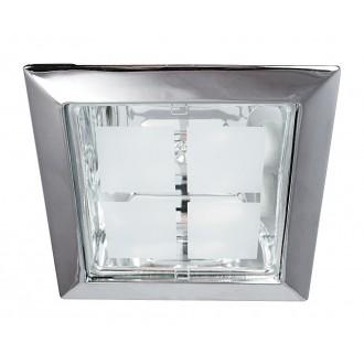 RABALUX 1150 | SpoOffice Rabalux ugradbena svjetiljka 230x230mm 2x E27 krom