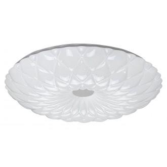 RABALUX 1426 | Primrose Rabalux stropne svjetiljke svjetiljka okrugli daljinski upravljač jačina svjetlosti se može podešavati, sa podešavanjem temperature boje 1x LED 2880lm 3000 <-> 6500K bijelo, učinak kristala