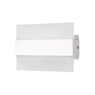 RABALUX 1439   Neville Rabalux zidna svjetiljka pravotkutnik 1x LED 190lm 3000K bijelo mat